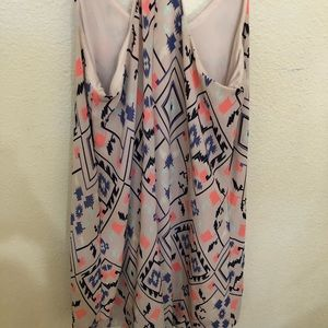 Multi color summer dress